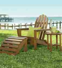 Create The Look Of The American Northeast In Your Backyard With The Classic  Look Of Our Sturdy Poly Wood® Adirondack Chair.
