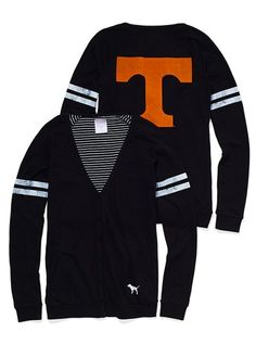 So you mean I can feel comfy because I'm wearing a cardigan but still support my Vols??!? Awesome!!