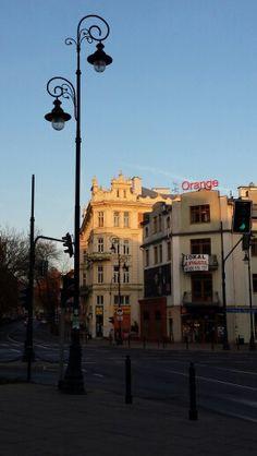 Lublin. Narutowicza Street