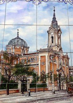 Azulejos en las calles de Madrid | Flickr: Intercambio de fotos