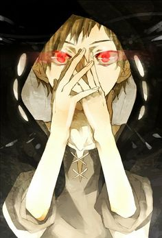"""Kano Shuuya """"We understand how dangerous a mask can be. We all become what we pretend to be. we all wear masks and the time comes when we can no longer remove them without removing some of our skin."""""""