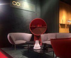 COEDITION expose à la 56 ème édition du salon international du meuble de Milan.  Luca Nichetto, une des figures du nouveau design italien, en a réalisé le stand.