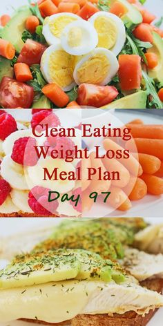Healthy weight loss help with daily clean eating and weight loss meal plans…