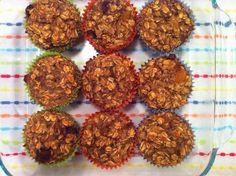 peace. love. & good food.: {What Will Ate} Cinnamon Oatmeal Banana Breakfast Muffins