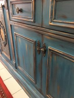Kitchen Cupboards, Chalk Paint, Painted Furniture, Armoire, Buffet, Cabinet, Storage, Crafts, Paint Ideas
