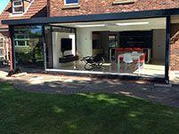 Park Farm Design - Projects & Park Farm Designs Sunflex SVG sliding door system with moving corner ...