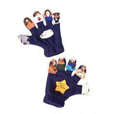 Roman 10-Finger Puppet Nativity Scene