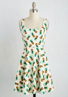 Dresses - Very Charming Dress in Pineapples