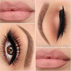 Neutral Glam Look | Pampadour For products you can use to get this look visit pampadour.com