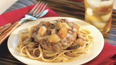 You'll love this American Heart Association Go Red recipe for savory steak stroganoff served over heart-healthy whole-grain pasta.