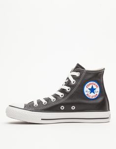 Converse Leather High Tops $70