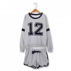 $11.25 Plus Size 12 Figure Print Long Sleeve Sport Suit For Women