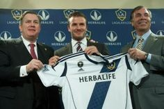 LA Galaxy...Herbalife....David Beckham!