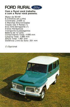 1973 Ford Rural - Brasil