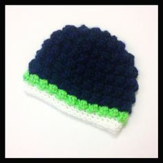 Hey, I found this really awesome Etsy listing at https://www.etsy.com/listing/195981818/seahawks-baby-hat