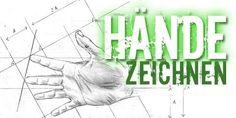 Zeichnen lernen - Hände Hand Finger - Zeichenkurs