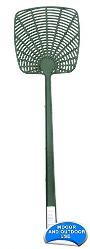 Fly Swatters - Good Living Durable Plastic Fly Swatter  Green 1Pack *** Details can be found by clicking on the image. (This is an Amazon affiliate link)
