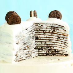 How to Make Oreo Mille Crepe Cake – No-Bake Recipe