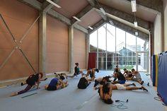 Caractère Spécial & NP2F : CNAC Centre National des Arts du Cirque - ArchiDesignClub by MUUUZ - Architecture & Design