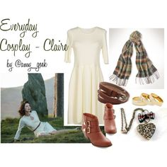 geek with curves: Everyday Cosplay - Claire from Outlander Casual Cosplay, Claire Outlander, Outlander Series, Librarian Style, Neue Outfits, Mommy Style, Mode Vintage, Character Outfits, Steampunk Fashion