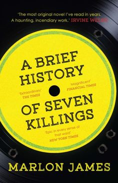 Congratulations to Jamaican author Marlon James for winning the 2015 Man Booker Prize for his work A Brief History of Seven Killings