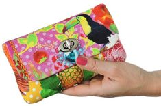 Sew Spencer Ogg's Twist Lock Clutch Purse | Multi-size | Sew and Sell
