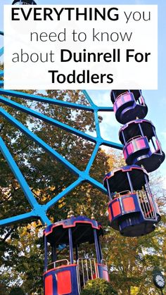 Everything you need to know about Duinrell for toddlers including the best rides, where should you stay and things to do around Duinrell with toddlers.