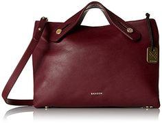 Skagen Mini Mikkeline Brown Satchel Bag