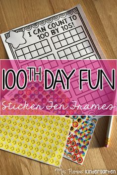 100 Days and Counting {w/ Mrs. Plemons' Kindergarten}