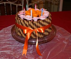 WAFER STRAWS CAKE  www.cidasculinarts.com