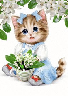 Have a good day with this very cute good morning ecard. Free online A Very Cute & Adorable Morning Ecard ecards on Everyday Cards I Love Cats, Cute Cats, Funny Cats, Beautiful Gif, Animals Beautiful, Kittens And Puppies, Cats And Kittens, Cute Baby Animals, Animals And Pets