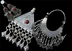Traditional Kashmiri jewelry