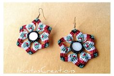 Hey, I found this really awesome Etsy listing at https://www.etsy.com/listing/471346326/handmade-macrame-earrings-with-ivory