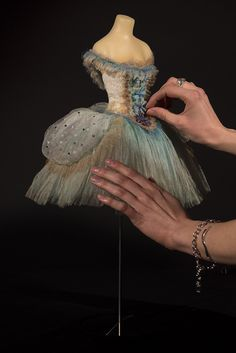 Our 'Winter Fairy' miniature ballet costume. Photography by Richard Wilding.