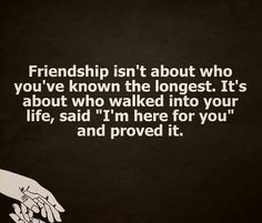 Friendship is..