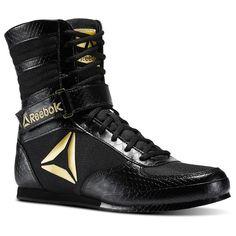 Reebok UFC Training Crossfit Boxing Boots Shoes Black Gold size 7 to 14 Ufc Training, Body Training, Boxing Boots, Shoe Boots, Shoe Bag, Men's Boots, Toe Shoes, Wrestling Shoes, Men S Shoes
