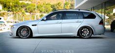 BMW 3 series wagon on Rotiform rims Wagon Cars, Bmw Wagon, E91 Touring, E60 Bmw, Bavarian Motor Works, Sports Wagon, Bmw 3 Series, Car In The World, Modified Cars