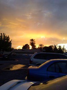 Mesa-area sunset :)