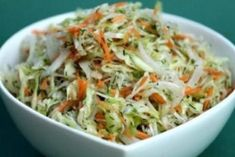 Pots and Frills: Basic White Cabbage Salad--Polish Cuisine Classic Appetizer Salads, Healthy Appetizers, Easy Healthy Recipes, Whole Food Recipes, Cooking Recipes, Healthy Food, Top Salad Recipe, Salad Recipes, Cabbage Recipes