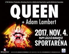 Queen + Adam Lambert koncert Budapesten! - Broadway Jegyiroda