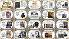 KS2 History Teaching Resource -  Victorian Times -  Victorian Inventions Timeline printable classroom display posters for primary schools