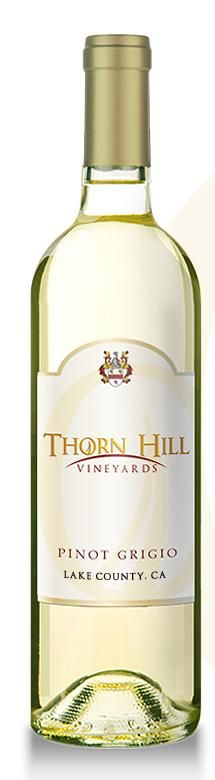 #PinotGrigio delights with subtle aromas of pineapple, honeysuckle and peach and enraptures with lively flavors of citrus, pear and melon. The mid-palate has a vivid minerality and vibrant acidity with a refreshing lemon/lime finish   #ThornHillVineyards