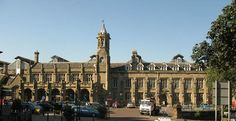 Carlisle railway station is a major junction - where the West Coast Main Line meets the lines to Settle and Leeds, Newcastle, Cumbria coast, and south west Scotland. Carlisle Cumbria, British History, Lake District, Newcastle, Beautiful Landscapes, Britain, Scotland, Train Stations, St Andrews