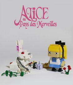 alice aux pays des merveilles lego blockhead