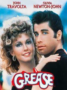 Grease Mijn eerste 'echte-mensen-film' in de bioscoop. Oh wat was ik verliefd op Olivia! Tip: niet met mij naar deze film kijken. Praat hem letterlijk mee namelijk.