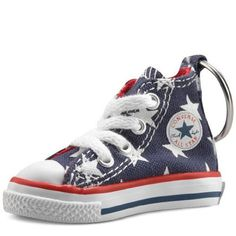 b1a3f4db2e23 Converse Key Chain All Star Chuck Taylor Sneaker Keychain Authentic (USA  Stars)