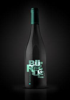 blue ridge wine package design