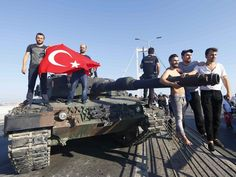 """#Conspiracy theorists are saying the attempted military coup in #Turkey was #faked, after President Recep Tayyip#Erdogan reportedly called it """"a gift from Allah""""."""