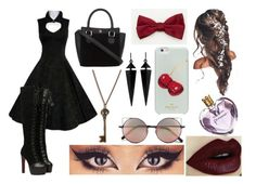 """""""Hazzy"""" by cahstylesd on Polyvore featuring moda, Vera Wang, Le Chateau, Kate Spade, Linda Farrow, Oasis e And Mary"""
