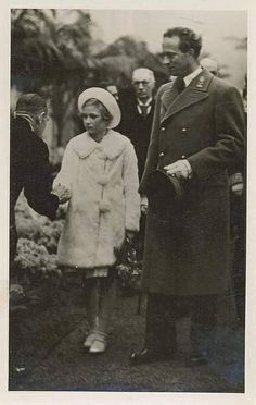 King Leopold III. of Belgium with his daughter Josephine Charlotte | Flickr - Photo Sharing!